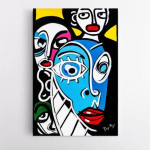 Obra de arte, A Diversidade, Um Dedo de Arte - Diego Moura artista plástico