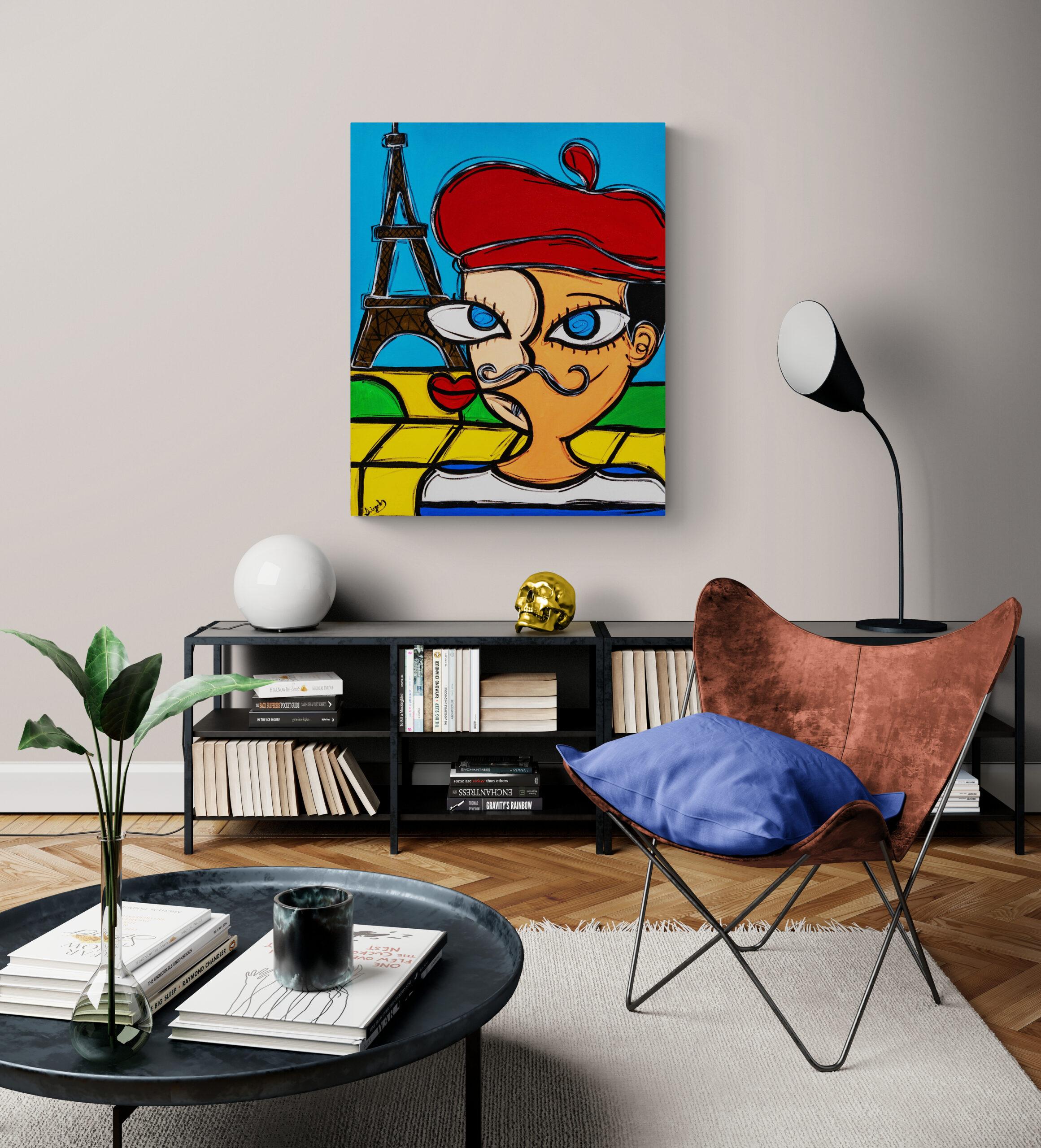 Obra de arte, O Artista, Um Dedo de Arte - Diego Moura artista plástico