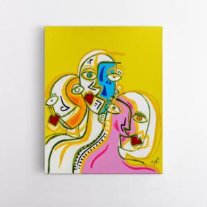 Obra de arte, A positividade, Um Dedo de Arte - Diego Moura artista plástico