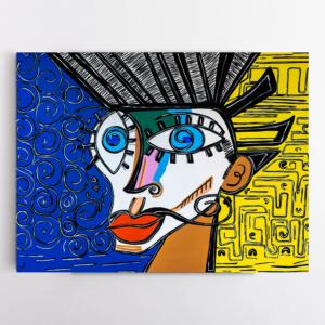 Obra de arte, O Homem do Brooklyn, Um Dedo de Arte - Diego Moura artista plástico