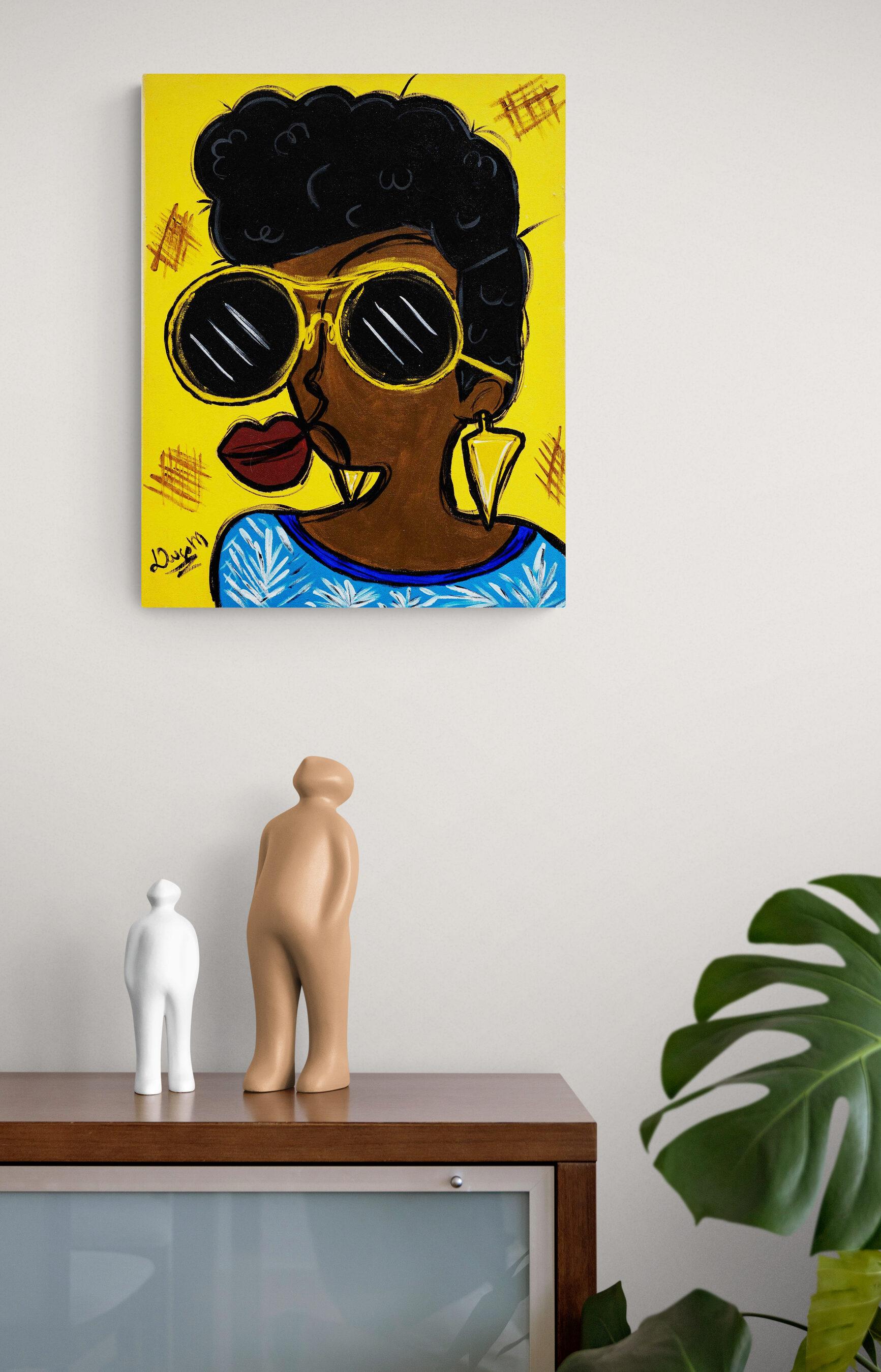 Obra de arte, Dara, Um Dedo de Arte - Diego Moura artista plástico