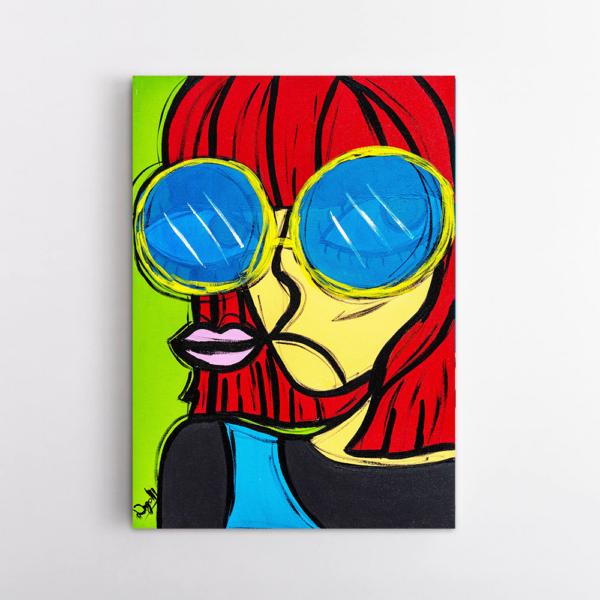 Obra de arte Rita Lee, Um Dedo de Arte - Diego Moura artista plástico